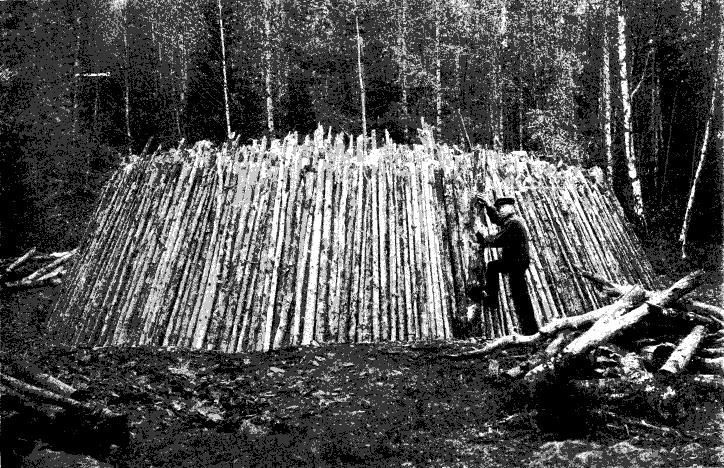 Resning av mila, Östergötland, 1921