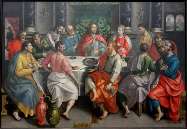 File Supper Marten De Vos . 1550 Early