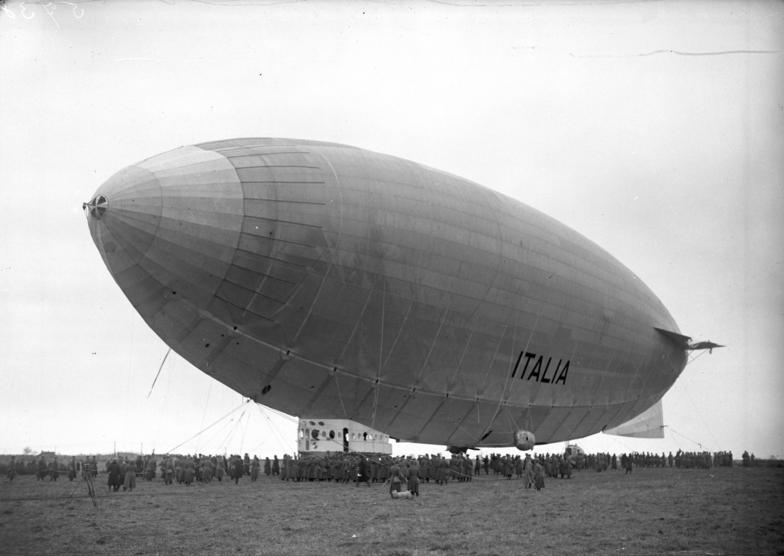 In April 1928 The Italia landed at Stolp en route to the pole.