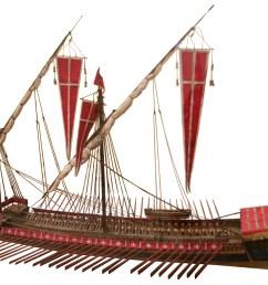 diagram of trireme ship [ 2900 x 2130 Pixel ]