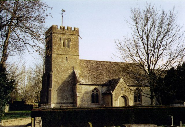 St Mary, Buscot Grade 1 listed building erected in the 13th century.