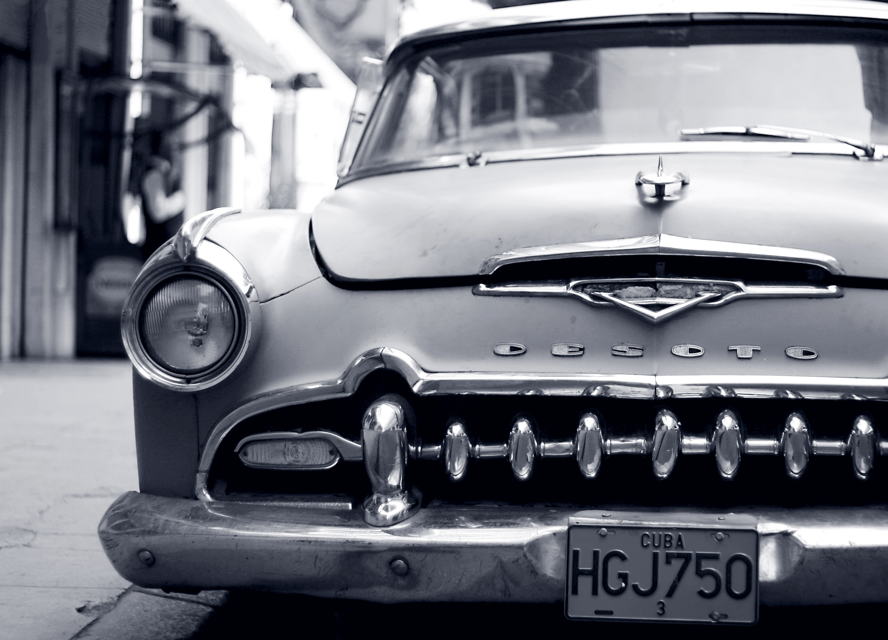 cuban 1950s cars