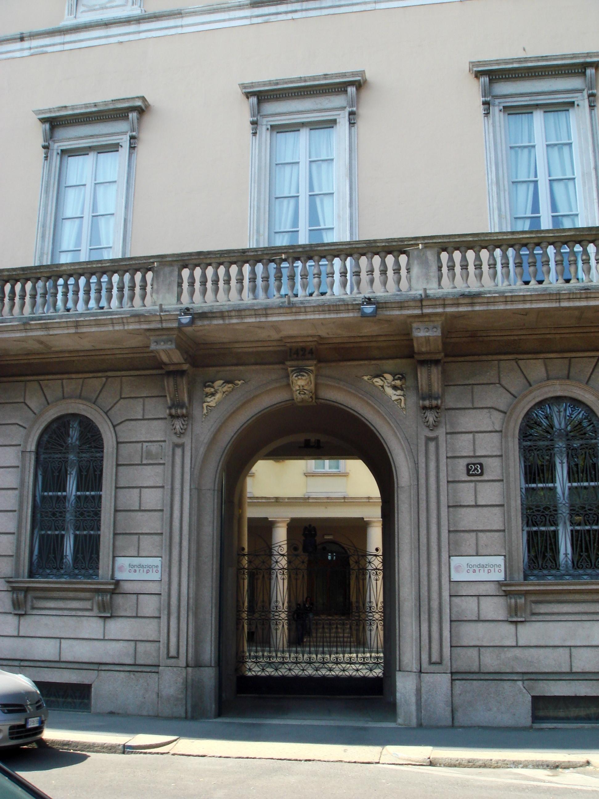 Palazzo Melzi dEril, sede della Fondazione Cariplo, Milano