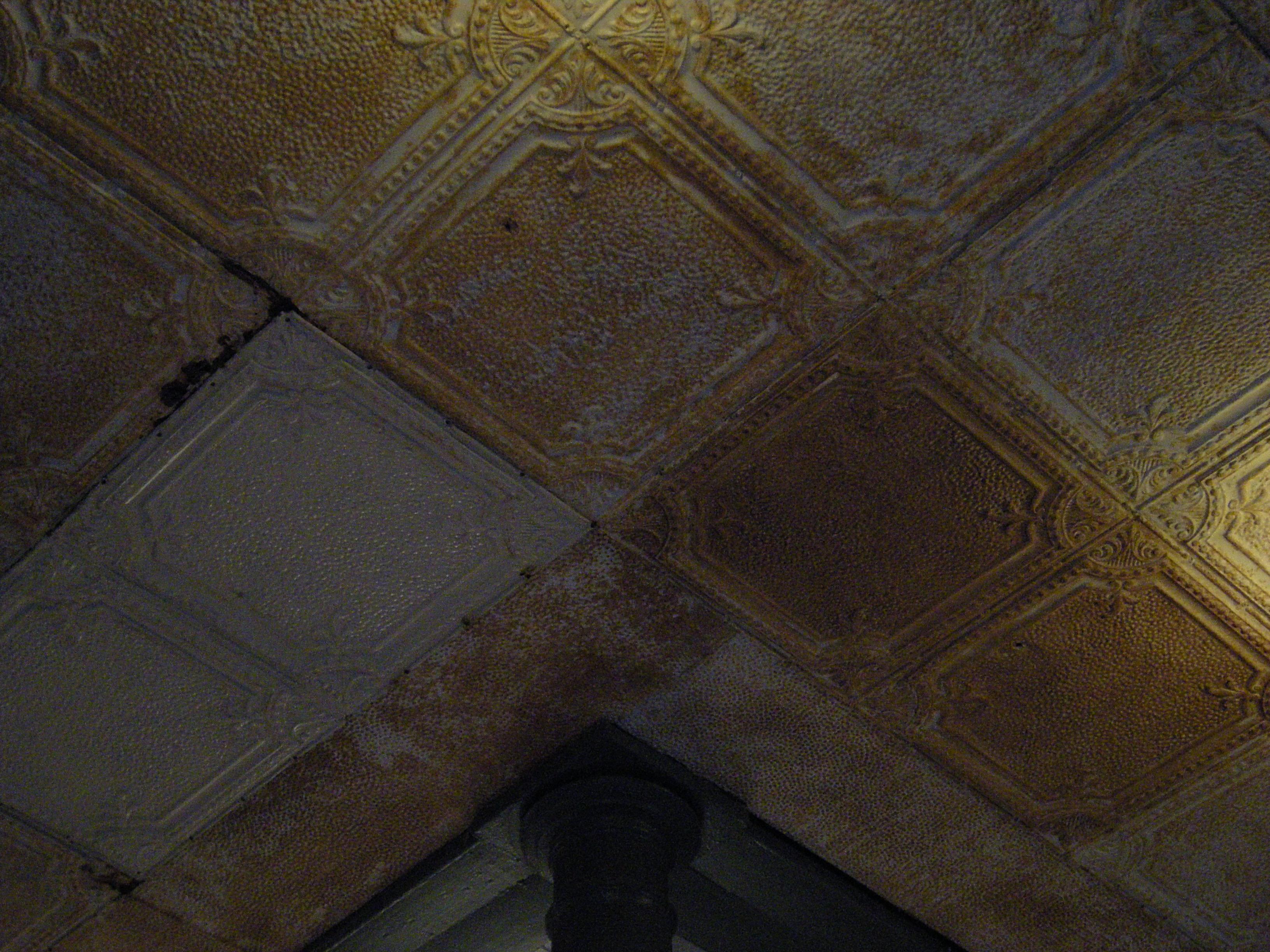 tin ceiling wikipedia