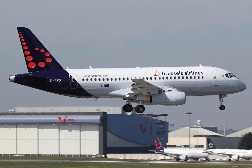 Bildresultat för brussels airlines ssj