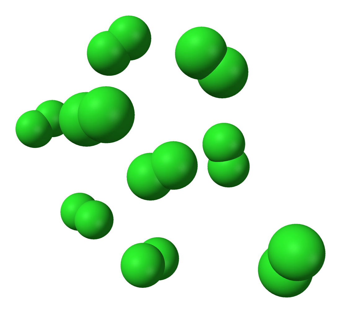What is the molecular formula structure for Cl2?   Yahoo Answers