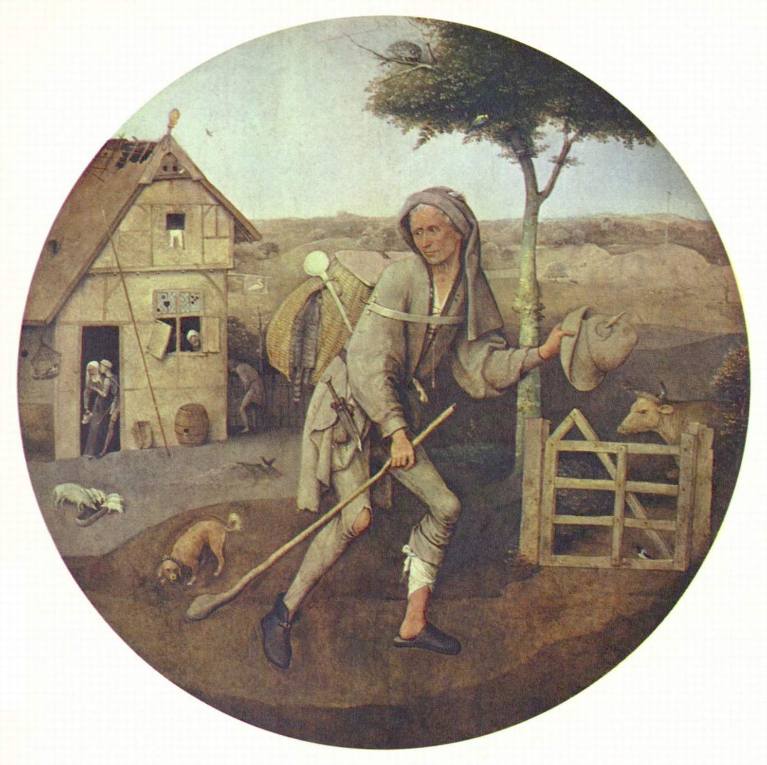 De Marskramer, Hieronymus Bosch
