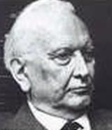 Deutsch: Das Portrait von Karl Jaspers auf ein...