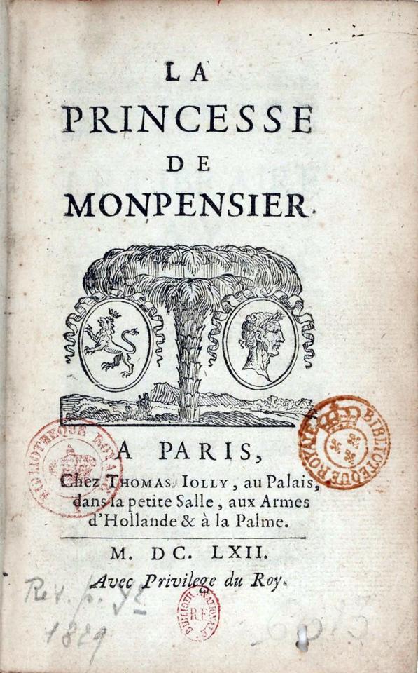 La Princesse De Montpensier Madame De Lafayette : princesse, montpensier, madame, lafayette, Princesse, Montpensier, (nouvelle), Wikipédia