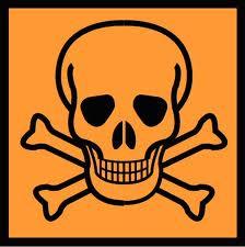 English: toxic waste sign Italiano: segnale pe...