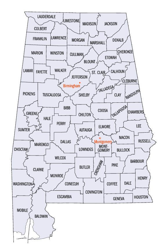 Alabama statistical areas Wikipedia