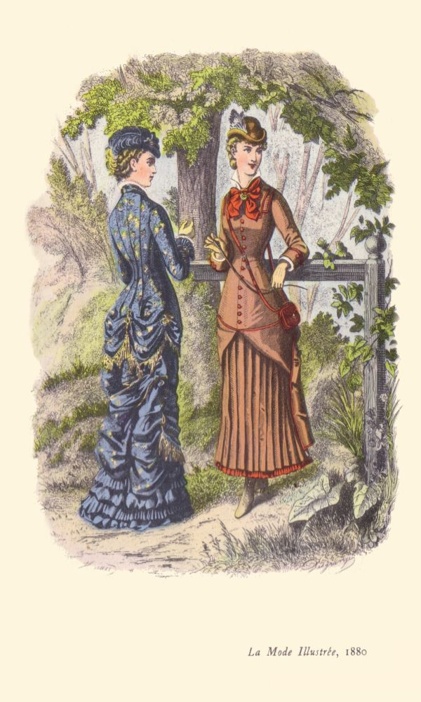 Istorija odevnih predmeta - Page 7 Fashion_Plate_1880_Outdoors
