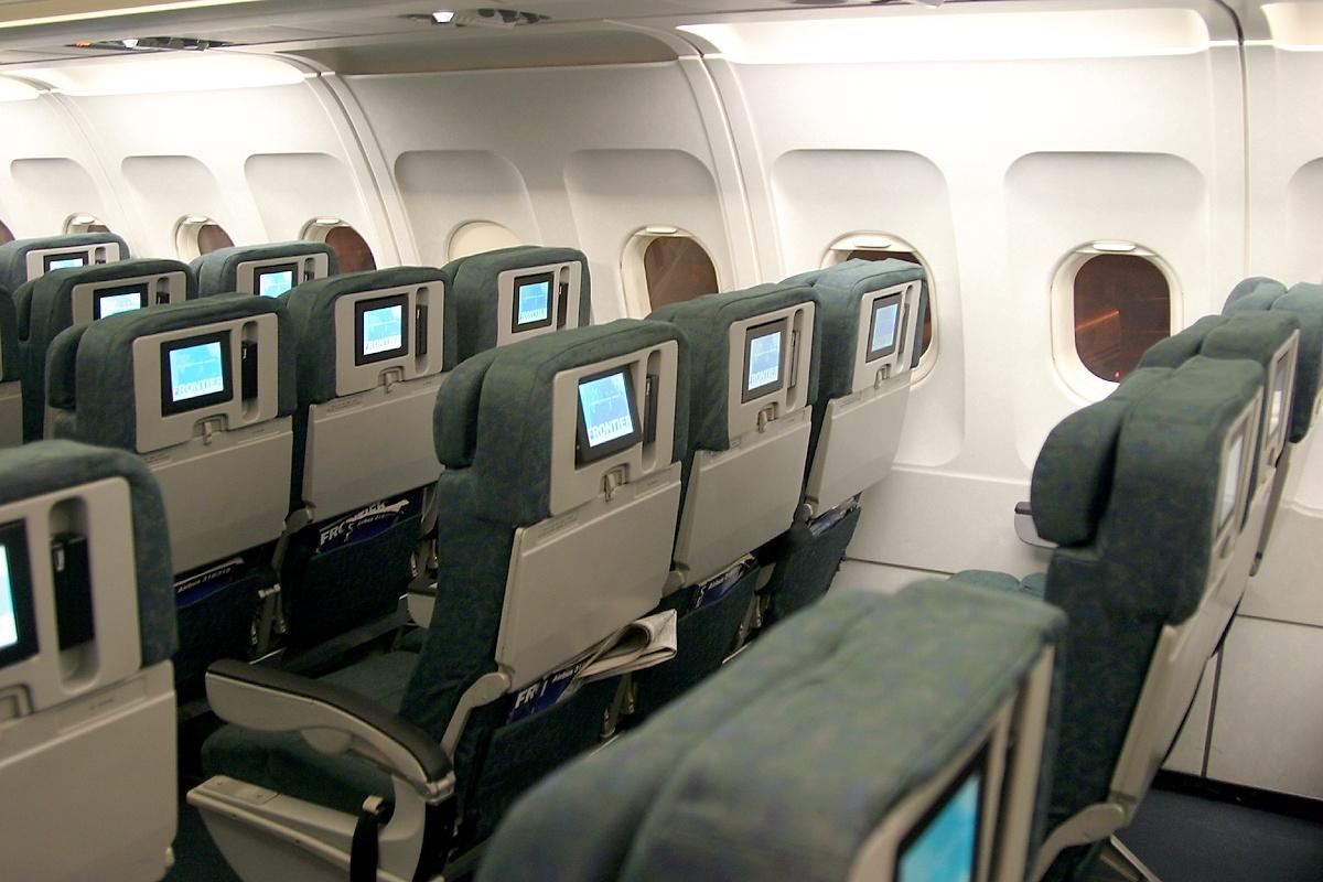 Frontier Airbus A320 Interior