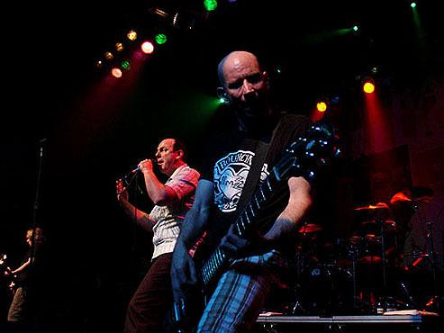 Show em Curitiba em 2007