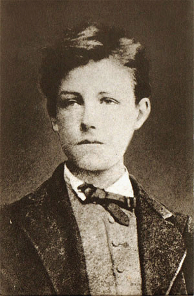 Arthur Rimbaud at the age of seventeen by Étie...