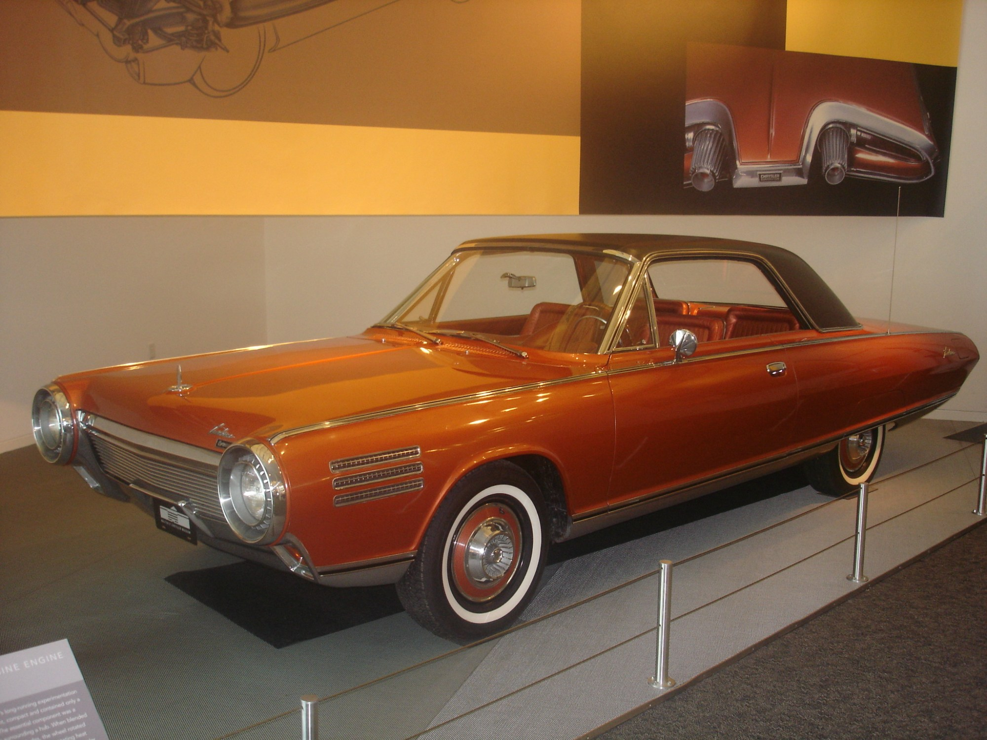 hight resolution of chrysler turbine car
