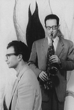 Portrait of Dave Brubeck and Paul Desmond