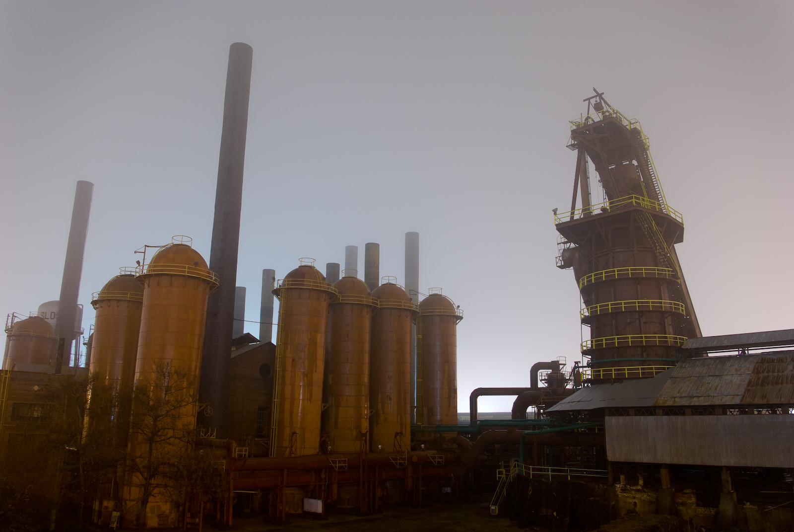 Sloss Furnace is haunted by one of the most evil