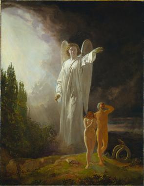 Expulsion of Adam and Eve, circa 1880, Clevela...