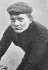 Henri Cornet, the winner of the 1904 Tour de F...