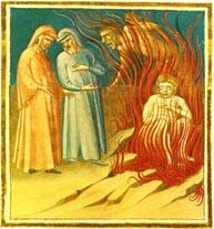 Inf. 27 Bartolomeo di Fruosino, Dante e Virgil...