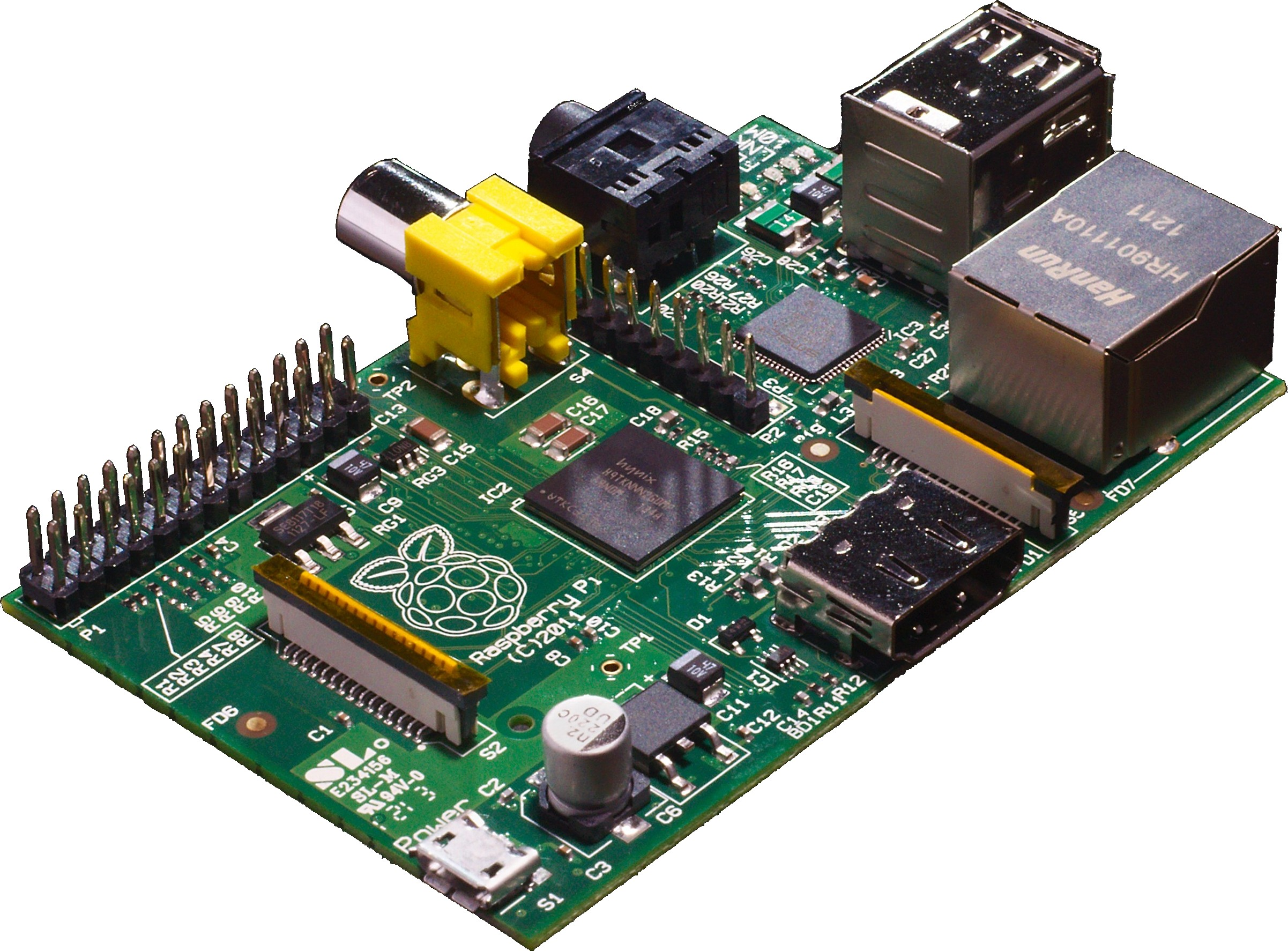 Raspberry Pi Circuit Board