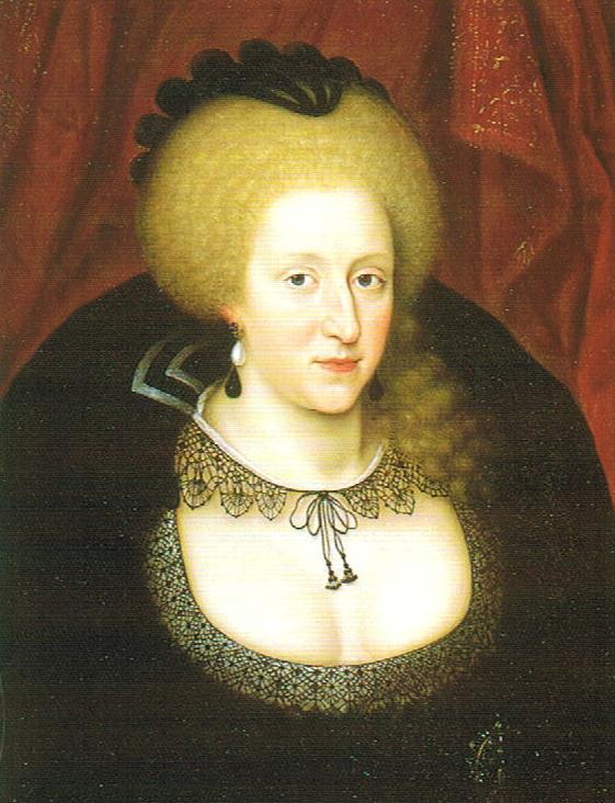 Anna van Denemarken Marcus Gheeraerts the Younger