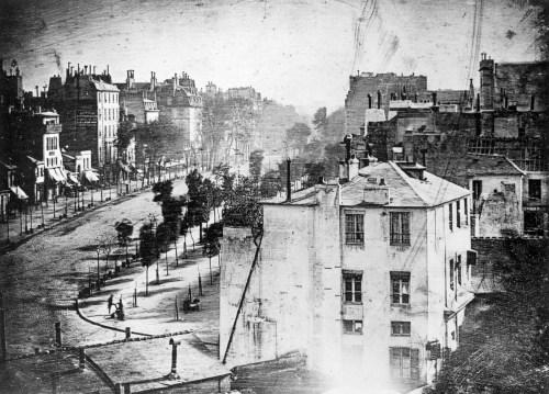 Photography history: Boulevard du Temple by Daguerre