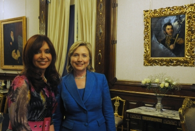 FileCristina Fernndez de Kirchner and Hillary Clinton  Casa Rosada  2010jpg  Wikimedia Commons