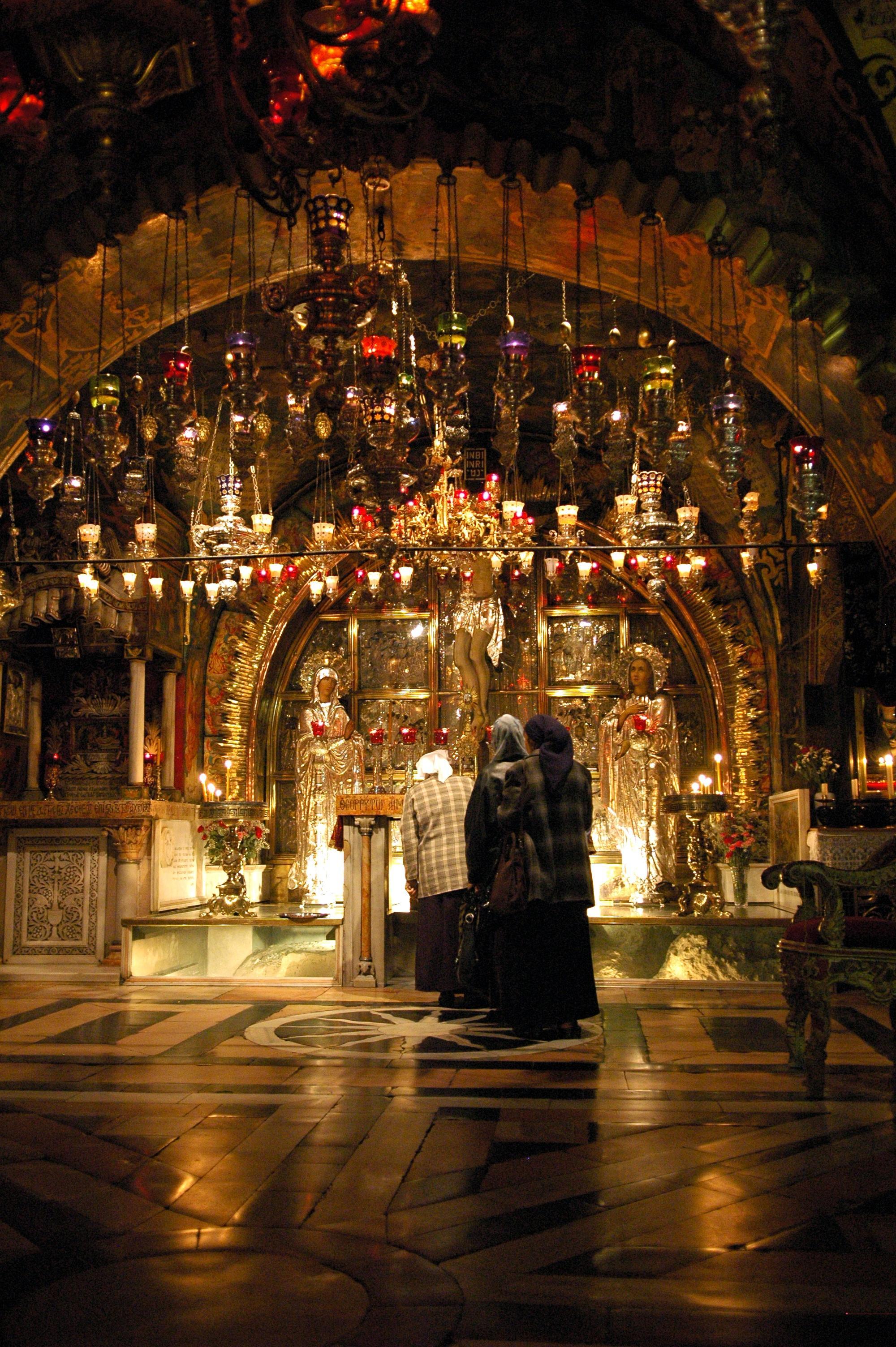 File:Golgotha (Church of the Holy Sepulchre).jpg - Wikipedia