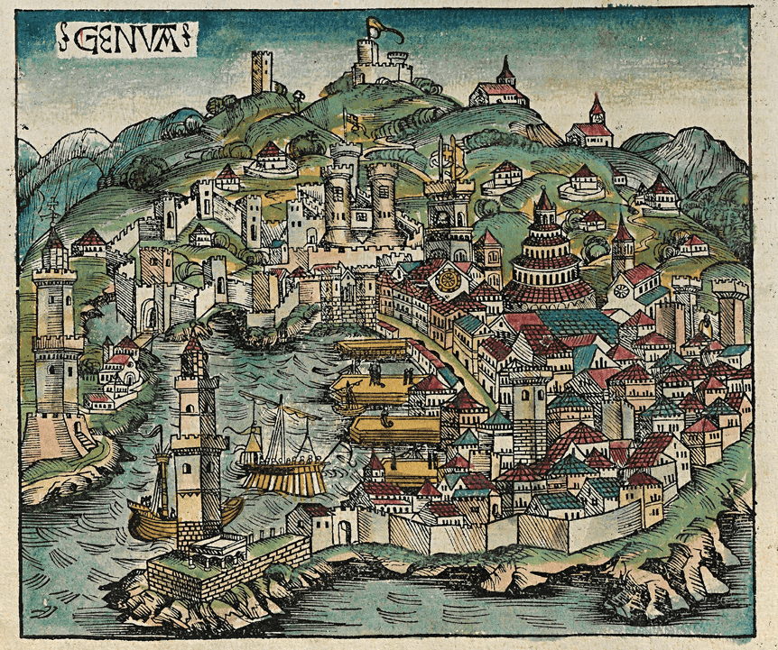 Genoa in 1493.