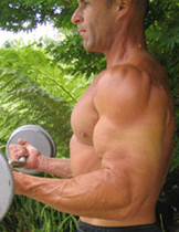 Standing Barbell Curl exercise for Biceps-->bi...