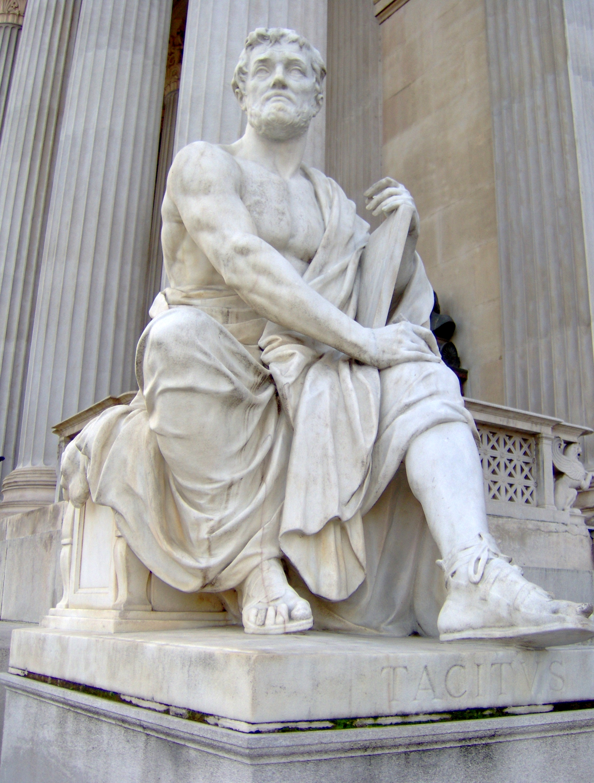 Photo of Publius (or Gaius) Cornelius Tacitus (source: Wikimedia Commons)