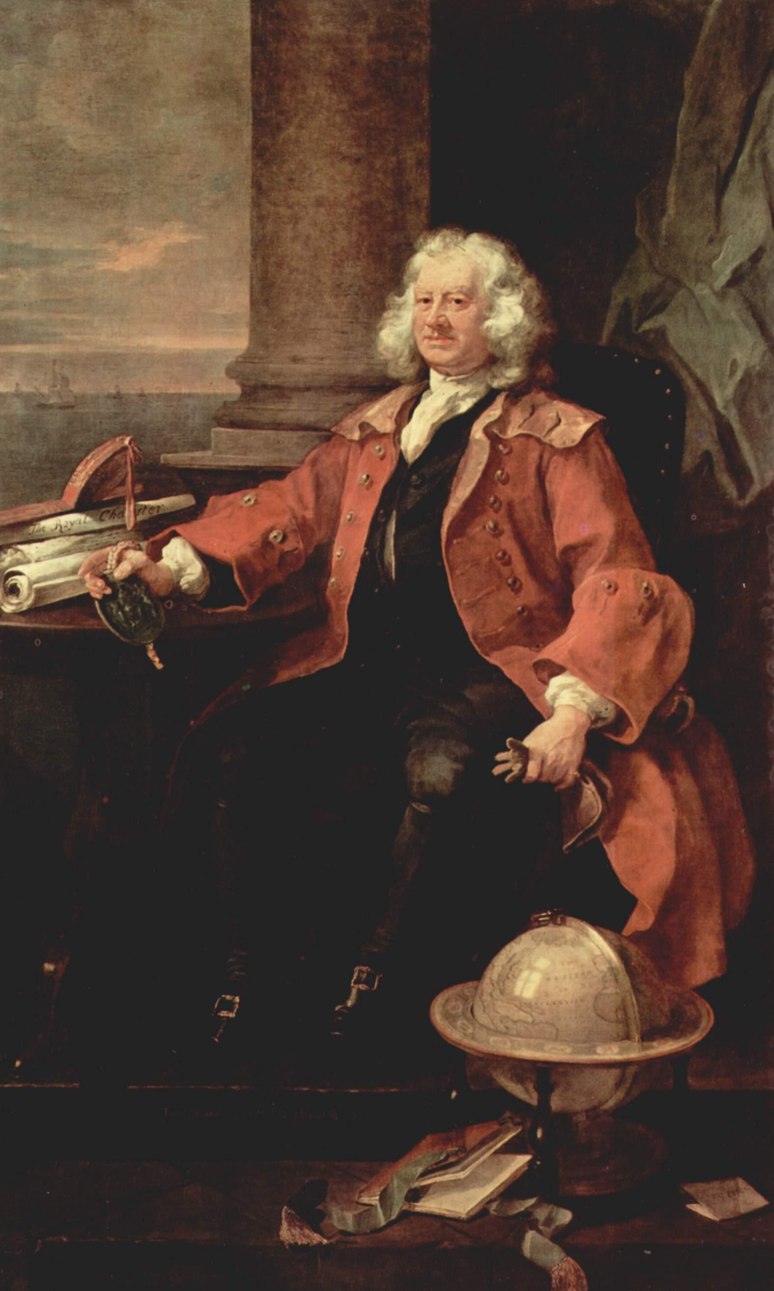 Portrait of Captain Thomas Coram