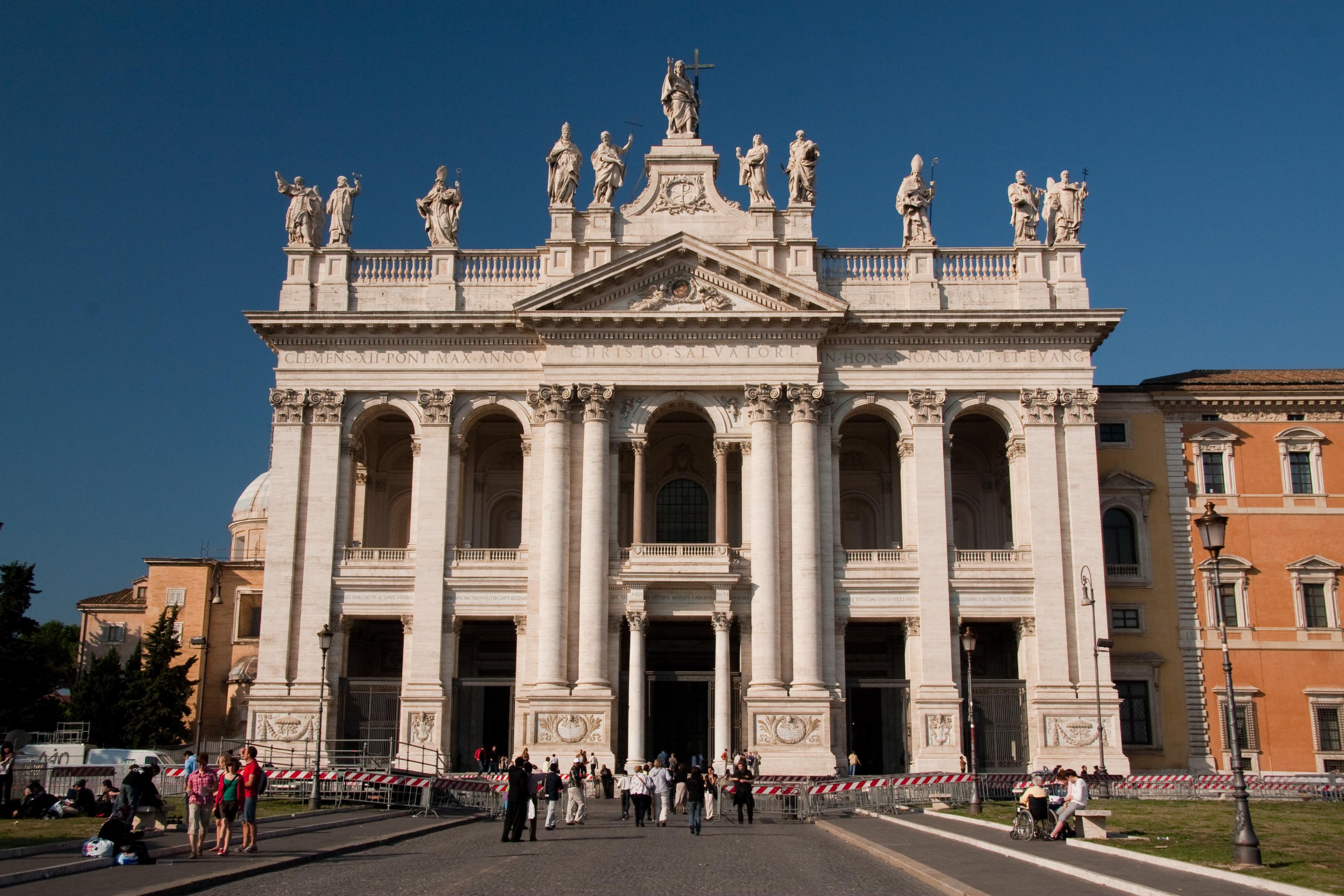 Basilica di San Giovanni in Laterano a ROMA  ITMAP