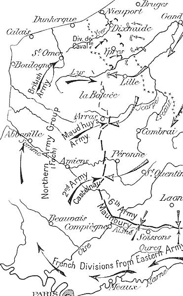 File:German and Allied operations, Artois and Flanders