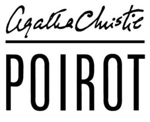 This image only consists of simple geometric shapes and/or text. It does not meet the threshold of originality needed for copyright protection, and is therefore in the public domain. http://commons.wikimedia.org/wiki/File:Logo_Hercule_Poirot.jpg