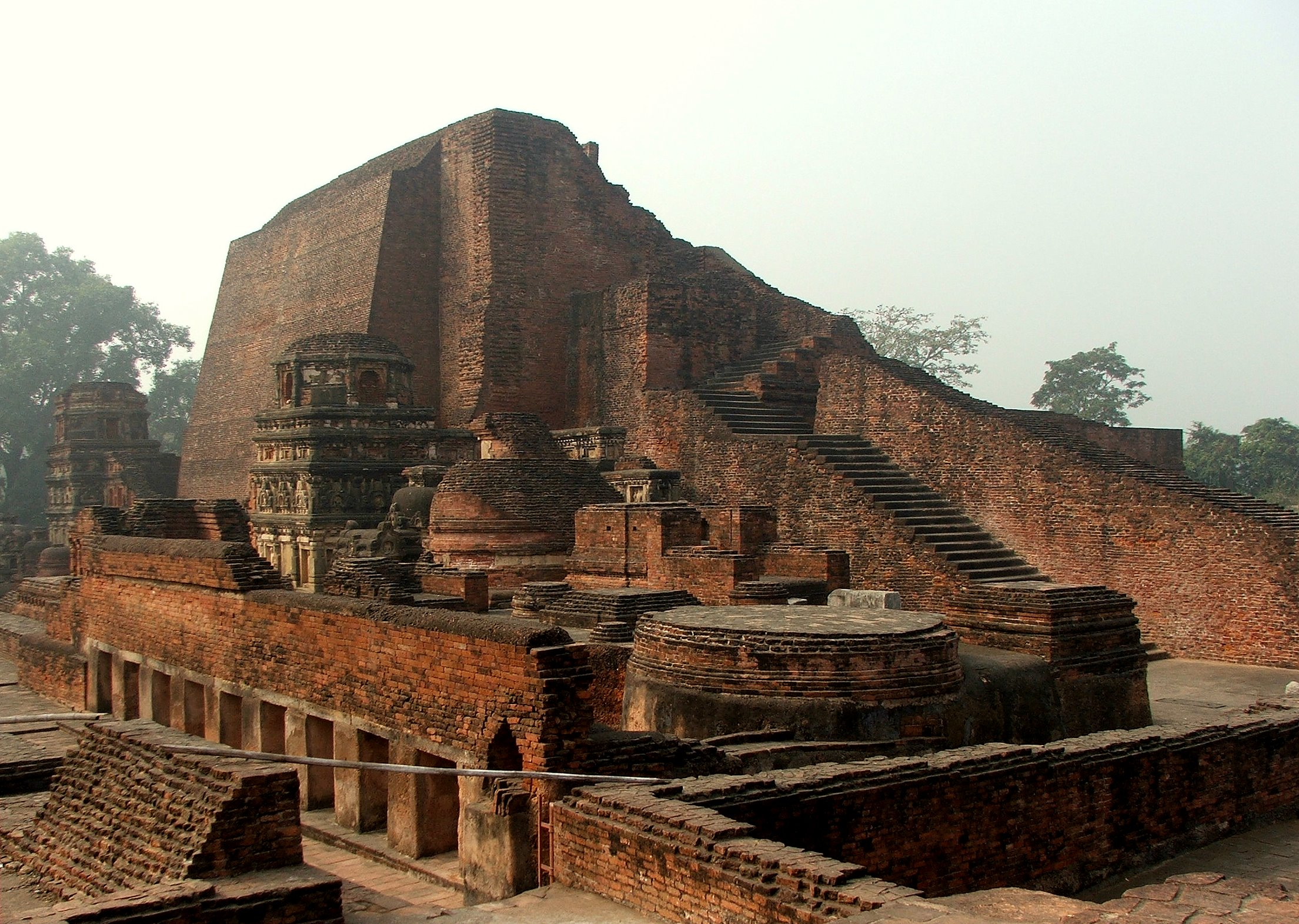 Nalanda is considered one of the first great universities in recorded history.