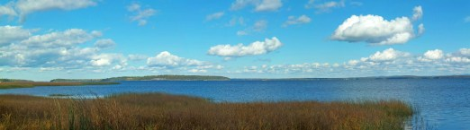 Lake Champlain and Valcour Island from Ausable Marsh Wildlife Management Area