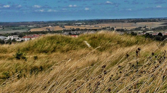 File:Five Knolls Barrow Cemetery View, Dunstable, Bedfordshire