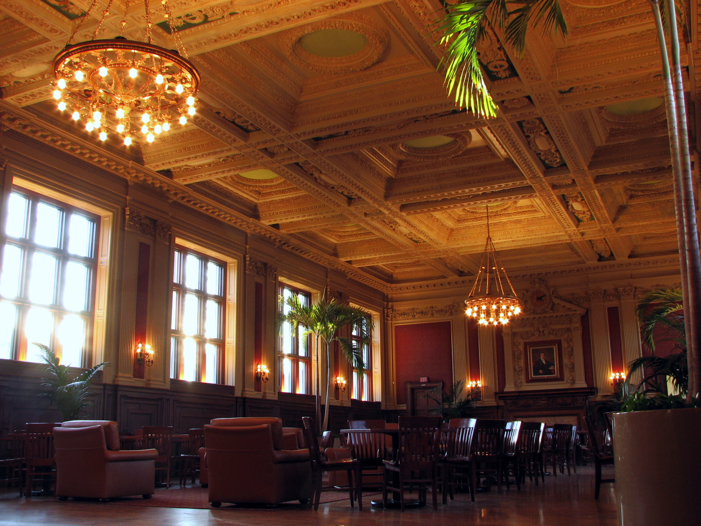 The inside of Holmes Lounge Taken on Jan. 6, 2...