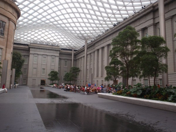 National Portrait Gallery Courtyard