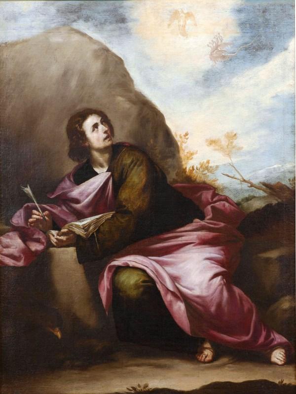 File San Juan Evangelista En Patmos Atribuido Alonso
