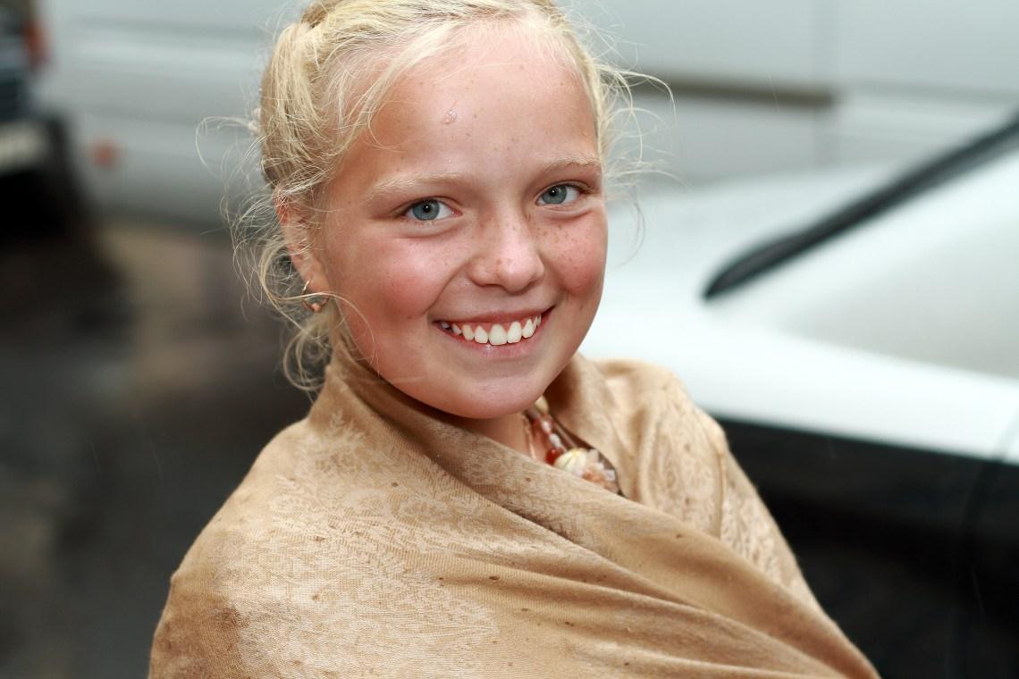 Smiling Blonde Girl Platinum Blonde Hair Dye Walmart