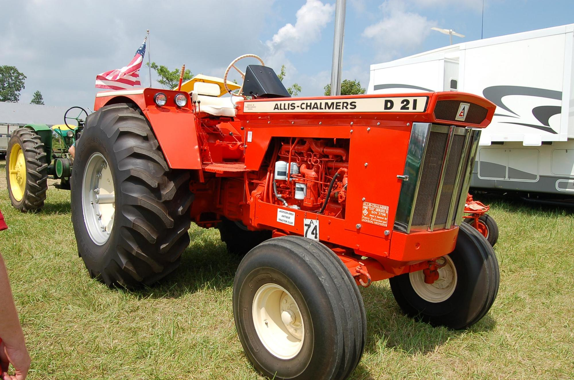 hight resolution of allis chalmers d series