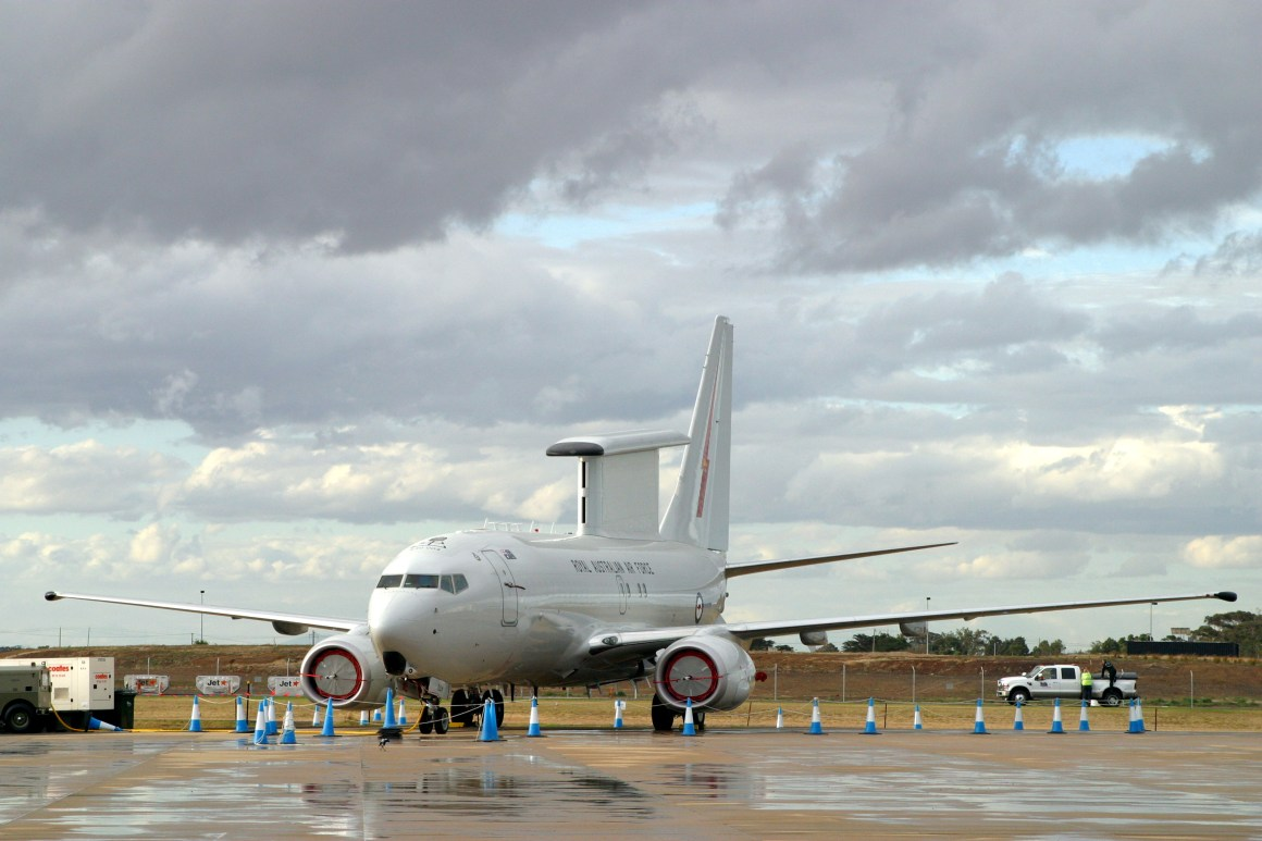 Risultati immagini per boeing  E7 AEW&C