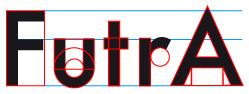 Futura: Formas geométricas simples