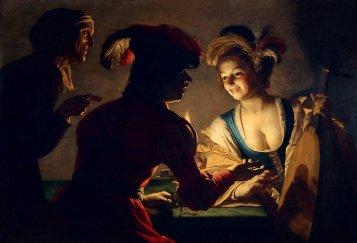 The Matchmaker by Gerrit van Honthorst