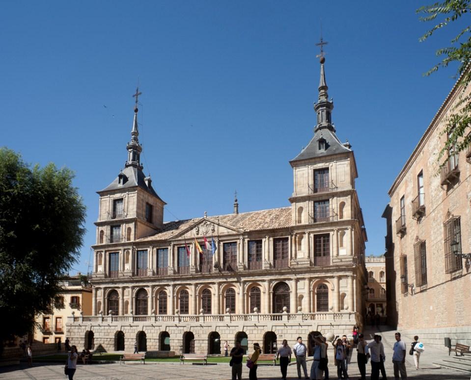 Ayuntamiento de Toledo - Wikipedia, la enciclopedia libre