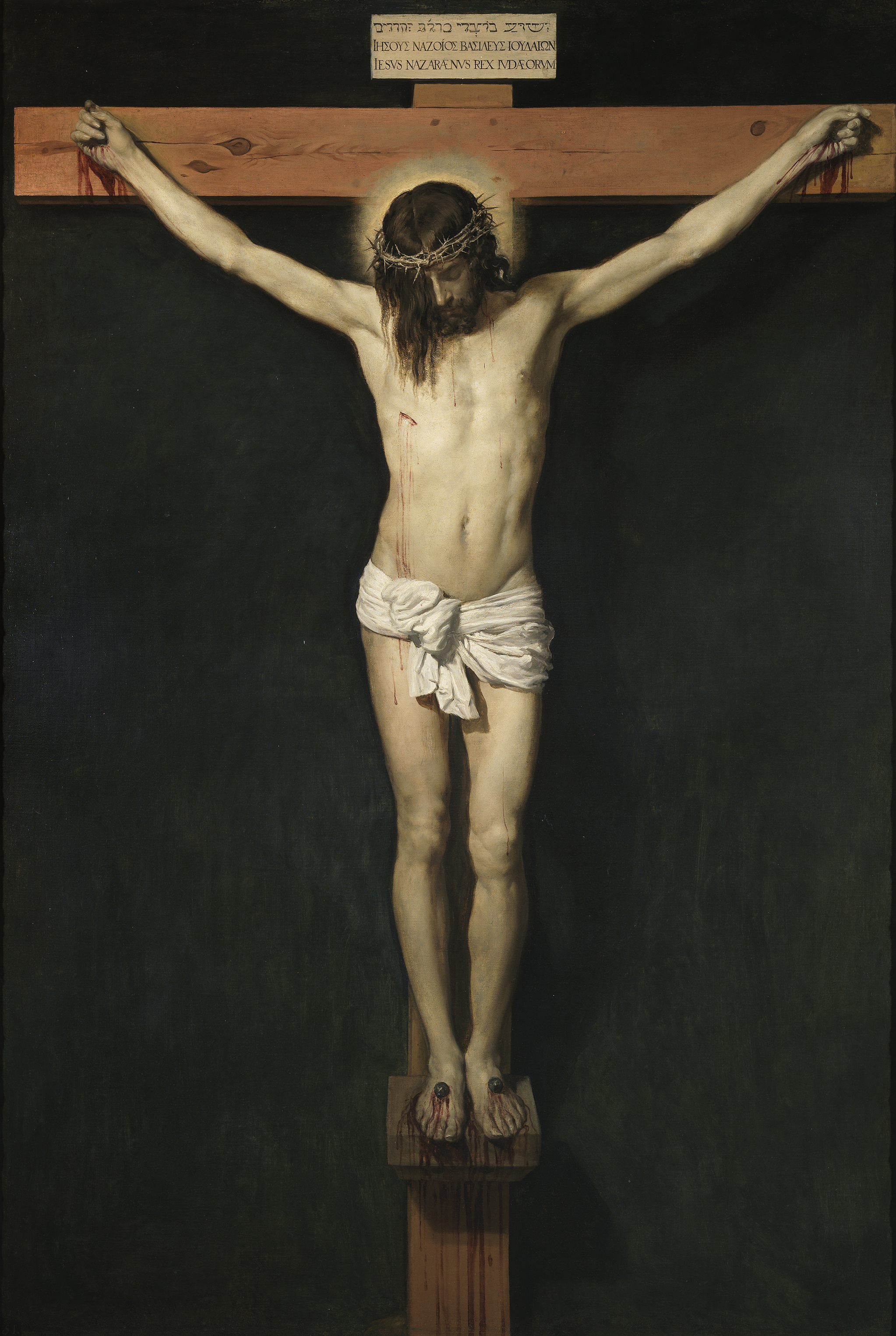 Christ Crucified, by Velasquez. From wikicommons.